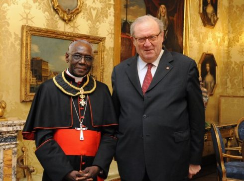 Order-of-Malta-Grand-Master-with-Cardenal-Sarah