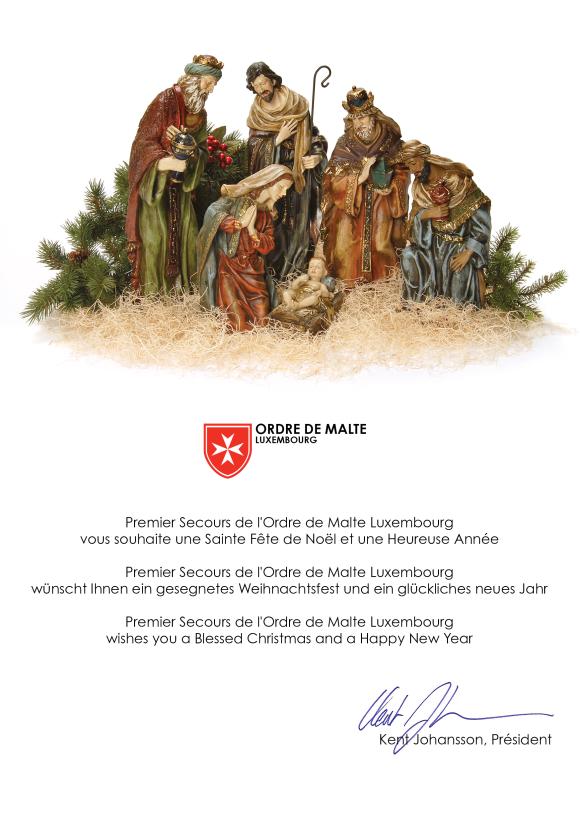 2019 OML Christmas Card online